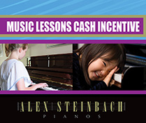 Cash for Music Lessons