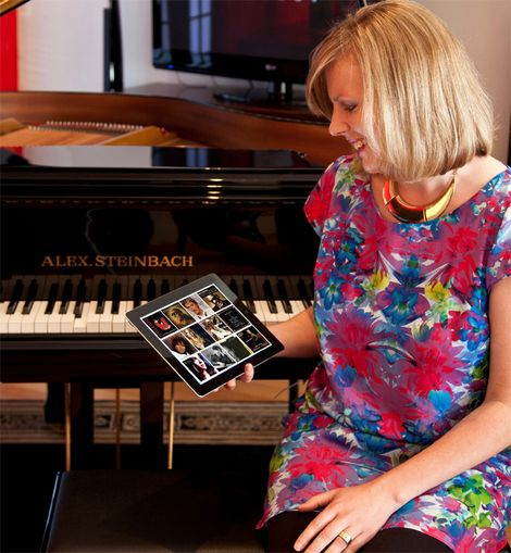 IQ Piano with iPad